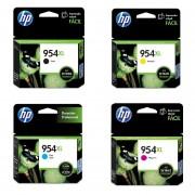 Combo Cartucho HP 954XL-Negro + 954XL-Cian + 954XL-Amarillo + 954XL-Magenta