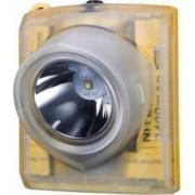 Pachet Lanterna Frontala Nitecore EH1 Reincarcabila USB ATEX Z1 Z2 260 Lumeni Include Banda de Cap