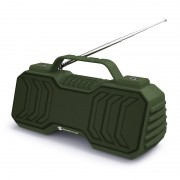Portable Wireless Speaker Handheld Bluetooth Speaker Subwoofer with Antenna - Green