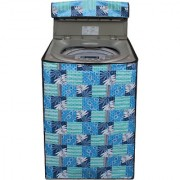 Dream Care Multicolor Printed Washing Machine Cover for Fully Automatic Top Loading Samsung WA62H4100HD 6.2 kg
