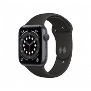 Apple Watch Watch Series 6 GPS 40mm Grey Aluminum Case with Sport Band Black Europa