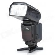TRIOPO TR-960II Flash externo universal para Nikon / Canon / Pentax DSLR - Negro