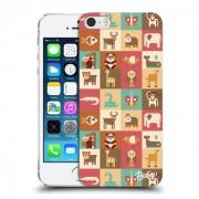 Átlátszó szilikon tok az alábbi mobiltelefonokra Apple iPhone 5/5S/SE - Animals