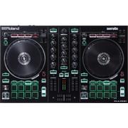 Roland DJ-202 Digital Vinyl System (DVS) scratcher 2canali Nero controller per DJ