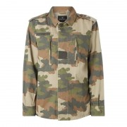 REVIEW Oversized Jacke mit Camouflage-Muster