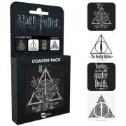 GYE Harry Potter - Deathly Coaster 4-pack