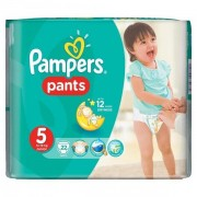 Scutece Active Baby Pants 5 Carry Pack, 22 buc, Pampers