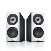 "Teufel ""Definion 3S high definition stereo boekenplank speakers, wit - zwart"""