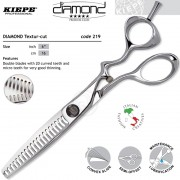 """KIEPE Diamond Textur-Cut Tapper olló 5,5"""" 219-6 (219-6)"""