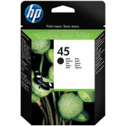 HP Original Tintenpatrone 51645AE (No.45), black HC