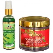 PR POMEGRANATE CREAM 100Gm - PR NEEM FACE WASH