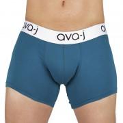 Ava-j Long Leg Boxer Brief Underwear Blue Sapphire