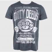 tricou stil metal bărbați AC-DC - Dirty Deeds Duster - LIVE NATION - PE12254TSCP