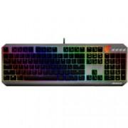 Клавиатура Gigabyte Aorus K7, гейминг, RGB, сива