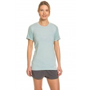 Adidas Funktions-T-Shirt, Rundhals, Fitted Fit grün