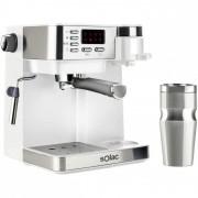 Solac Multi Stillo Máquina de Café Multifunções 3 em 1 Expresso/Cafeteira/Capuccino 20 bares