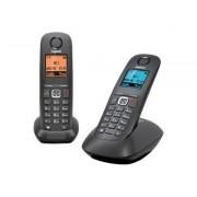 Gigaset A540 Duo - Téléphone sans fil avec ID d'appelant - DECTGAP - noir + combiné supplémentaire