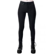 Damen Hose KILLSTAR - Vanquish Jeans - SCHWARZ - KSRA001525