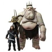 The Bridge Direct Hobbit Goblin King with Thorin 3.75 Battle Pack