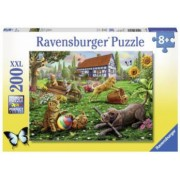 Puzzle Animalute Jucause 200 Piese