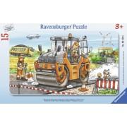 Puzzle Compactor Asfalt, 15 Piese Ravensburger