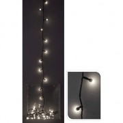Instalatie Craciun eNoelle, 240 LEDuri de 8 mm, lumina calda, 3 m