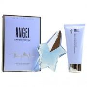 Thierry Mugler Angel 50ml Apă De Parfum + 100ml Loțiune de corp Travel Set