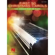 First 50 Christmas Carols You Should Play on the Piano, Paperback/Hal Leonard Corp