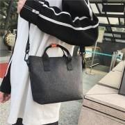 Mode multifunctionele reizen Crossbody handtas schoudertassen (zwart)