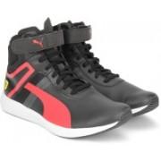 Puma Ferrari SF F116 Boot Sneakers For Men(Black)