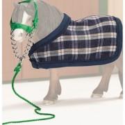Blanket + Headstall (Pony Blue)
