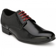 Hirel's Black Derby Lace Up