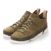 【SALE 50%OFF】ASBee クラークス Clarks Trigenic Flex Forest Green Nu (カーキ) メンズ