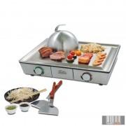 Solis Teppanyaki@Home öntöttvas minőségi Teppanyaki és Plancha grill lap (Typ 795)