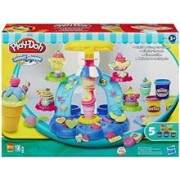 Jucarie Play-Doh Sweet Shoppe Swirl and Scoop Ice Cream Playset