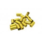 Alhonga bowdenház kupak acél 5x0.2mm arany