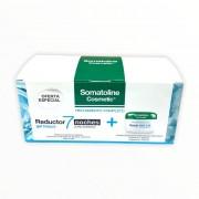 SOMATOLINE - Pack reductor 7 noches ultraintensivo gel fresco 400ml + crema exfoliante sal marina 350g