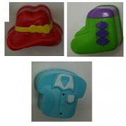 Replacement Shapes For Vtech Roll & Learn Activity Suitcase