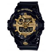 Casio GA-710GB-1AER G-Shock zijdeglans zwart 53 mm