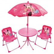 Disney Minnie Mouse tuin meubilair 4 delig