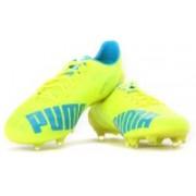 Puma evoSPEED SL FG Men Football Studs(Blue, Yellow)