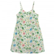 La Redoute Collections Vestido de alças finas, estampado floral, 3-12 anosEstampado- 3 anos (94 cm)