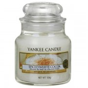 Yankee Candle Spiced White Cocoa - Small Jar, Yankee Candle