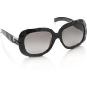 Fendi Over-sized Sunglasses(Black)