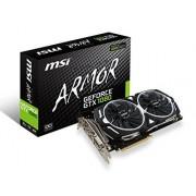 FBA_GEFORCE GTX 1080 ARMOR 8G OC MSI GeForce GTX 1080 (V336-004R) Armor Videokaart, 8 GB, OC, PCI-Express