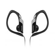 Panasonic Auriculares con cable PANASONIC RP-HS34E (In ear - Negro)