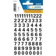 Geen Stickervel cijfers zwart 10mm 71x