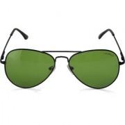 Laurels Eagle UV Protected Green Color Sunglass (Ls-Eag-040202)