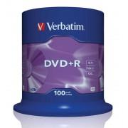 Verbatim DVD+R 16X Spind100 43551