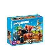 Playmobil 5102 Tigres À Dents De Sabre Et Chasseurs Des Caversnes
